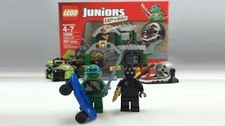 LEGO Juniors Teenage Mutant Ninja Turtles Lair Review 10669
