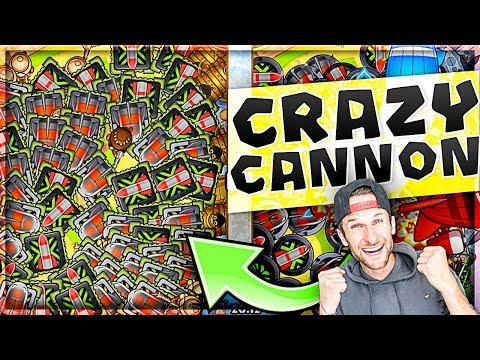 this is insane...    BTD Battles :: Crazy Cannons!