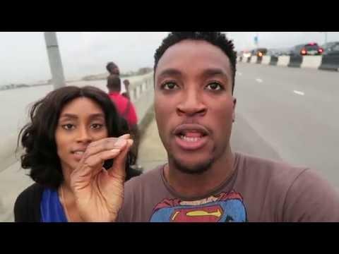 Mark Zuckerberg and Jidenna disturbing Lagos