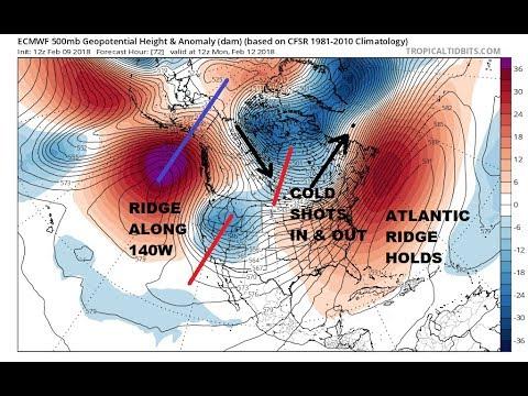 Weekend Rain Across The Northeast Long Range Weather Pattern - Map Of Long Term Weather Across The Us