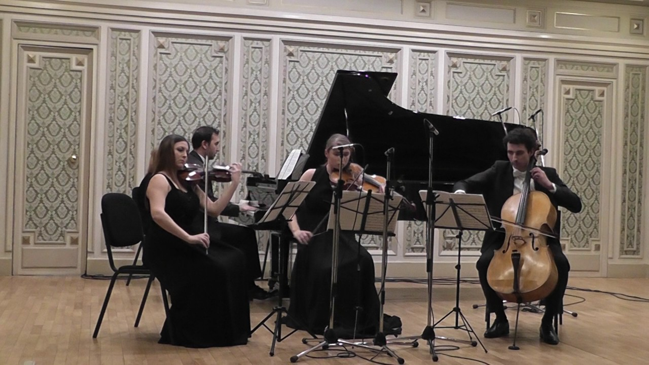 Download Brahms Piano Quartet No. 1 in G minor - 3rd movement