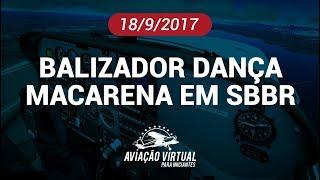BALIZADOR DANÇA MACARENA EM BRASÍLIA
