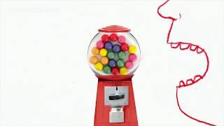 Der Kaugummiautomat: Kindheitstraum und Nostalgieobjekt | Karambolage | ARTE