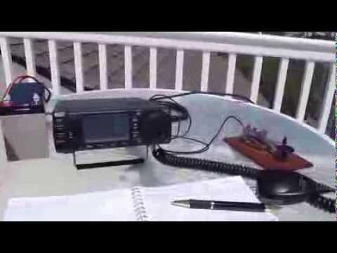 #103: Ham Radio on vacation - Long Beach Island with Icom IC-703+ NJ (NA-111), 10mo after Sandy