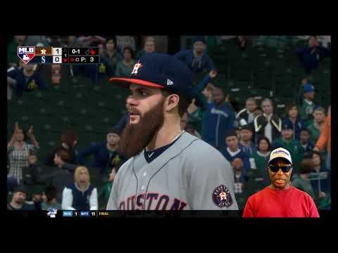 MLB 18 - Sunday Night Baseball 2nd Edition Vs The World Series Champs - Houston Astros