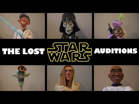 """""""The lost Star Wars auditions""""  