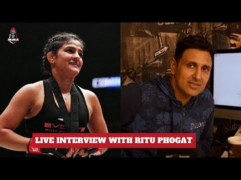 Ritu Phogat aims to become India's First MMA World Champion