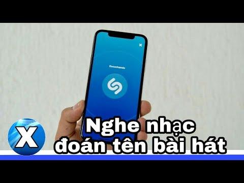 Ứng dụng tìm nhạc thông qua giai điệu trên điện thoại