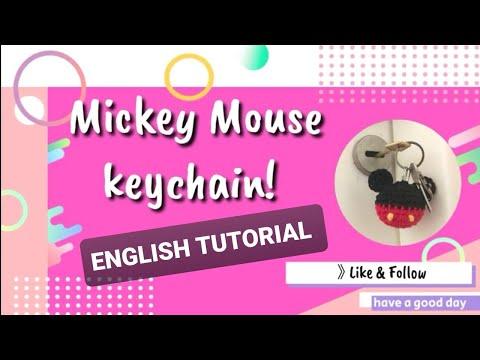 LikeaLove byOya - Amigurumi Mickey mouse anahtarlık | MiaMano | 360x480