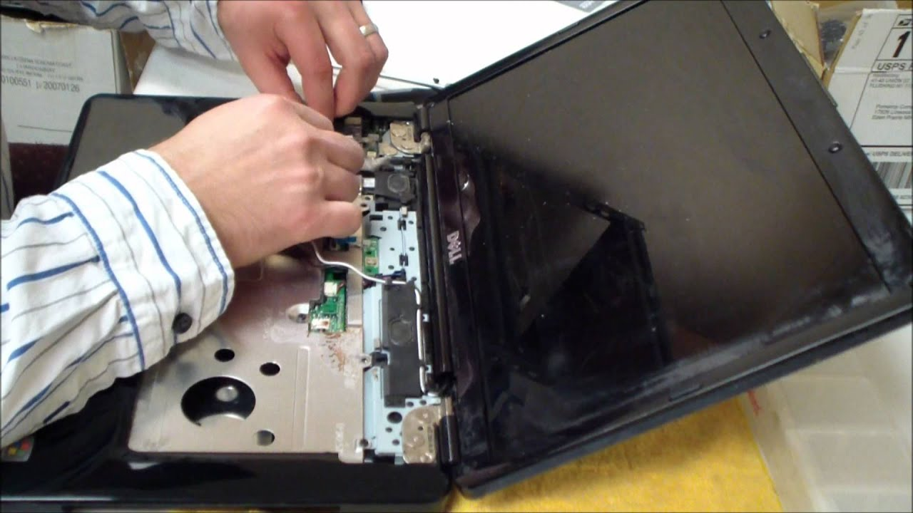 Dell Laptop Charger Wiring Diagram Porsche 911 1970 Inspiron 1545 Dc Power Jack Repair Youtube