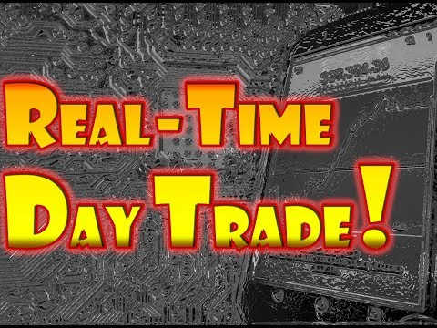 How to DAY TRADE! - REAL-TIME Stock Day Trading with Limit Buy and Sell Orders!!