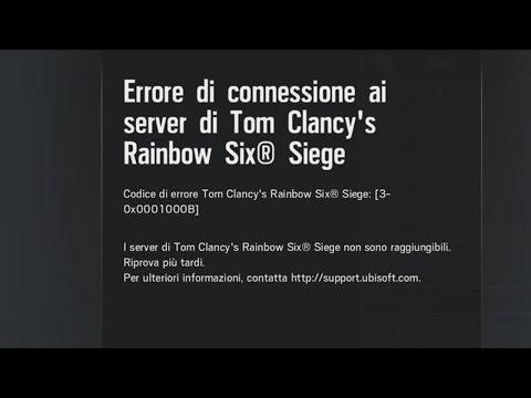 how to change rainbow six siege servers