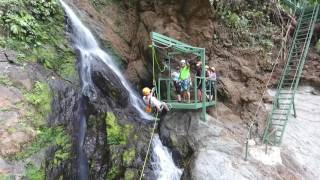 Costa Rica Waterfall Tours canyoning adventure