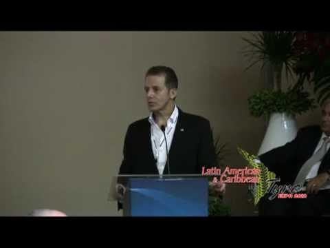 Carlos Araujo (Gen. Director, Bridgestone, Colombia) 2012 Latin American & Caribbean Tyre Expo