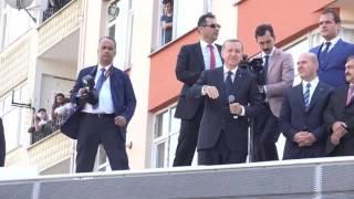 Cumhurbaşkanı Erdoğan Sahil Camii Önünde Vatandaşlara Seslendi