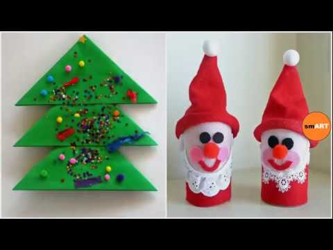 Christmas Card Design Easy Christmas Crafts For Kids Youtube
