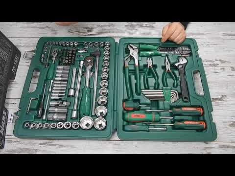 🔧 HANS TK-158E Набор инструментов Ханс 158 предметов