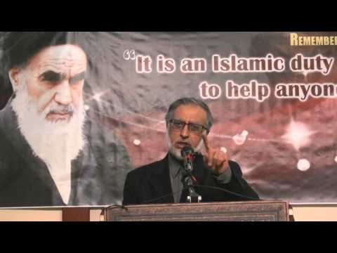 [2015] Speech by Br. Zafar Bangash on the 26th Anniversary of Imam Khomeini in Toronto - English