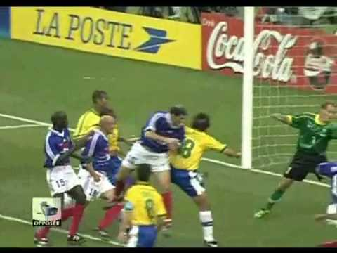 1998 fifa world cup france brazil vs france youtube