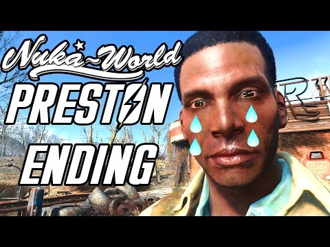 Fallout 4 Nuka World - Preston Reacts to Raiding Settlement - ALL DIALOGUE OPTIONS - Home Sweet Home