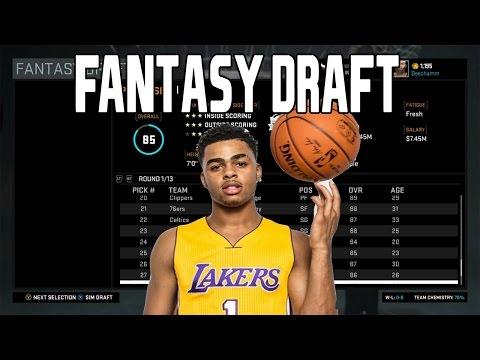 NBA 2K16 Rebuilding Challenge | 30th Pick Fantasy Draft Challenge