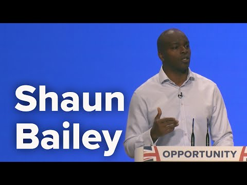 Shaun Bailey, Conservative London Mayor Candidate - Speech to Conservative Party Conference 2018