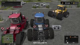 FS 17 BIG TRACTOR PULL OFF