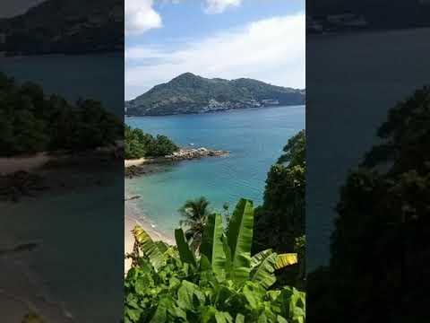Beautiful Laem Singh viewpoint in Phuket May 2021