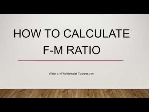 How To Calculate F-M Ratio - Wastewater Math