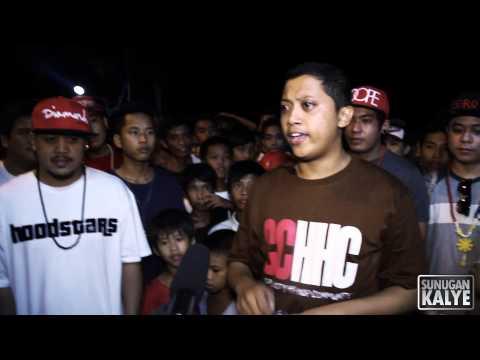 SUNUGAN KALYE-  DICE vs DUKE , HoodStars Tanza Cavite