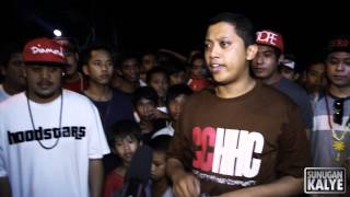 SUNUGAN KALYE-  DICE vs DUKE , HoodStars Tanza Cavite
