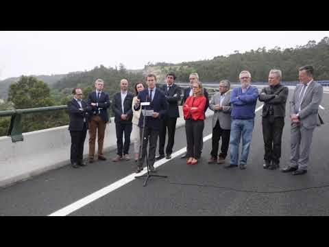 Así fue la inauguración de la Autovía do Morrazo
