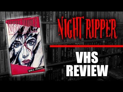Night Ripper VHS Review (1986, International Video Presentations)