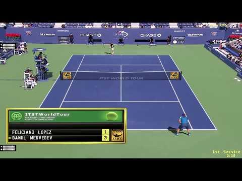 Feliciano Lopez vs Daniil Medvedev Highlights US Open 2019
