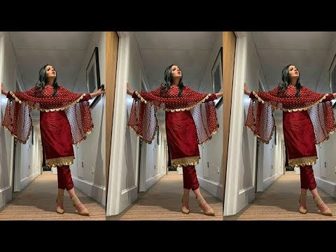 Latest Maroon Suits Designs||Maroon Punjabi Salwar Suits||Plain Maroon Suits With Color Combinations