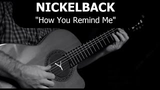 HOW YOU REMIND ME (Nickelback) - acoustic cover by soYmartino