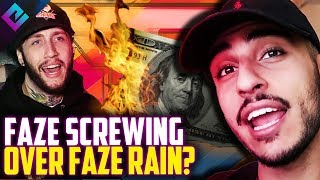 "FaZe Clan ""Screwing Over"" FaZe Rain, FaZe Banks Responds"