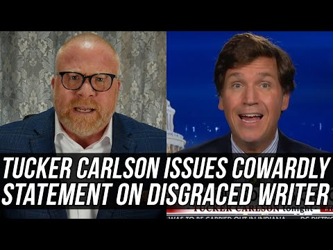 Tucker Carlson HUMILIATES Himself w/ Weak-Kneed Statement Downplaying White Supremacy of Blake Neff!