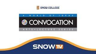 Snow College Convocation: Randall Beard 3-22-2018