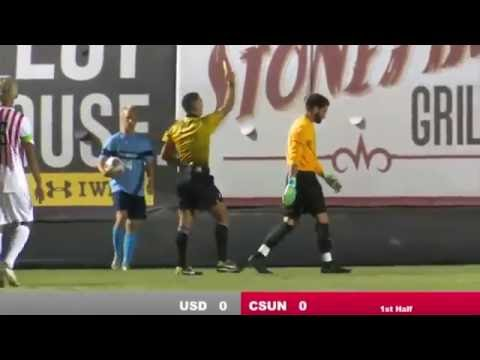 Samayoa scores for CSUN vs. San Diego