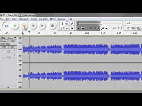 Audacity Cut Music