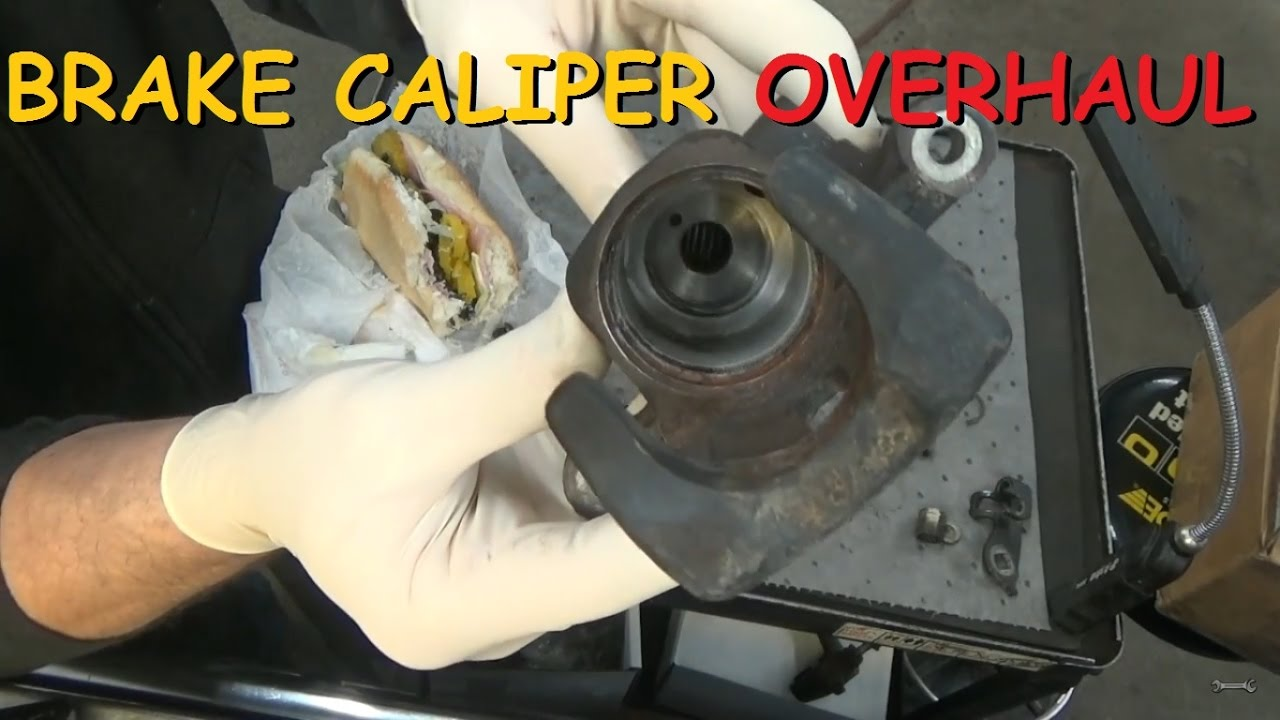 Disc Brake Caliper - Overhaul