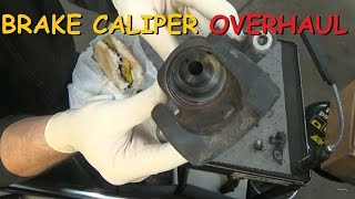 Disc Brake Caliper - Overhaul