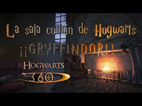 The Hogwarts Common Room In 360 | ¡¡GRYFFINDOR!! 🦁 ((Slytherin🐍, WORK IN PROGRESS!))