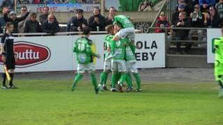 KPV - FF Jaro to 22.6.2017 - Ottelukooste