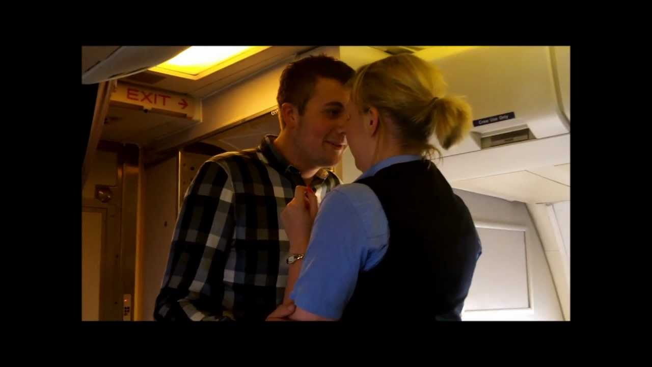 Proposing To My Girlfriend Air Hostess Aboard One Of -8038