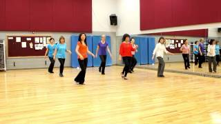 Baila Samba Conmigo - Line Dance (Dance & Teach in English & 中文)