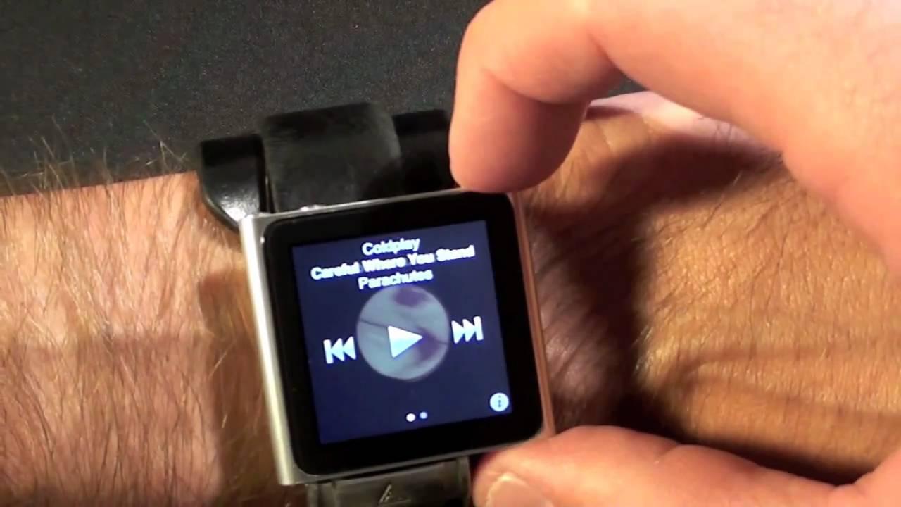 the iwatch apple ipod nano 6g wrist watch setup youtube rh youtube com ipod nano mc525ll manual iPod Model Mc525ll