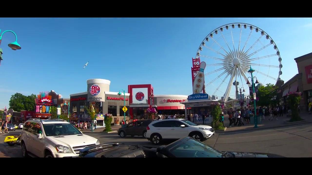 Walking Downtown Niagara Falls Ontario Canada Youtube