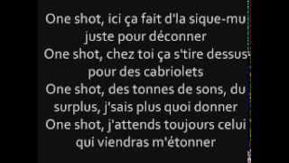 Maitre Gims  One shot  Ft Dry Paroles officiel
